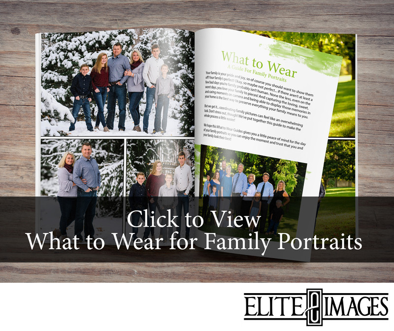 Click to View What to Wear for Family Portraits