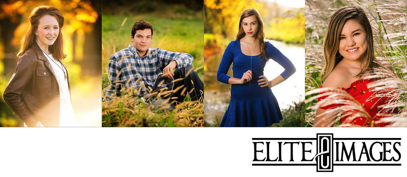 Senior Pictures in the Fall Dubuque