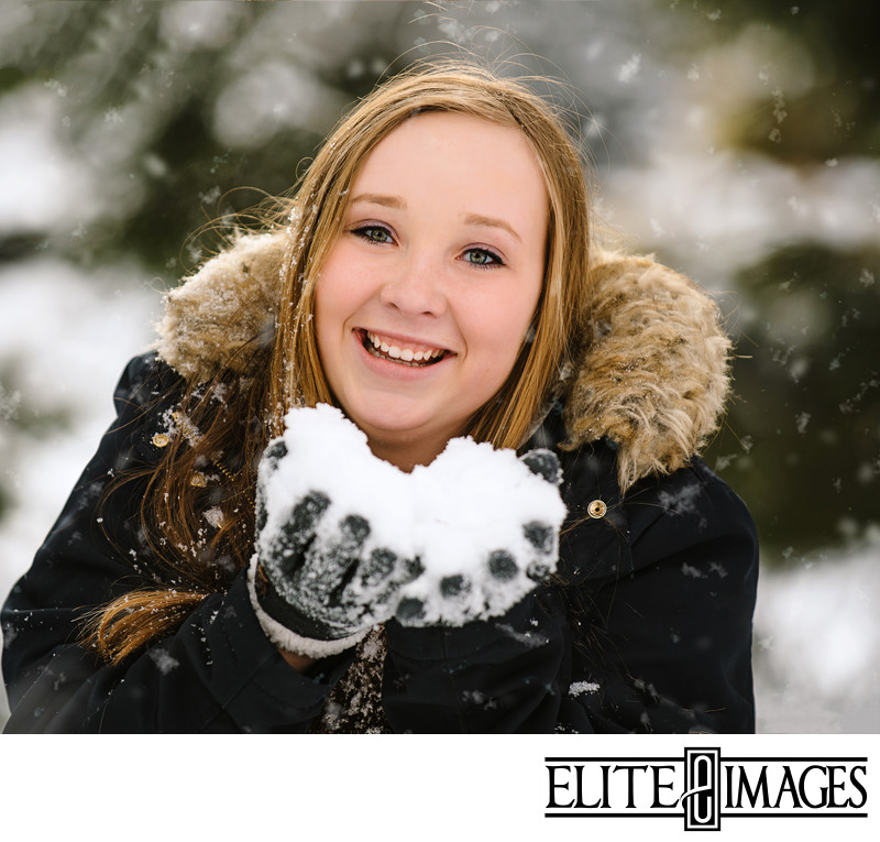 Winter Senior Photoshoot