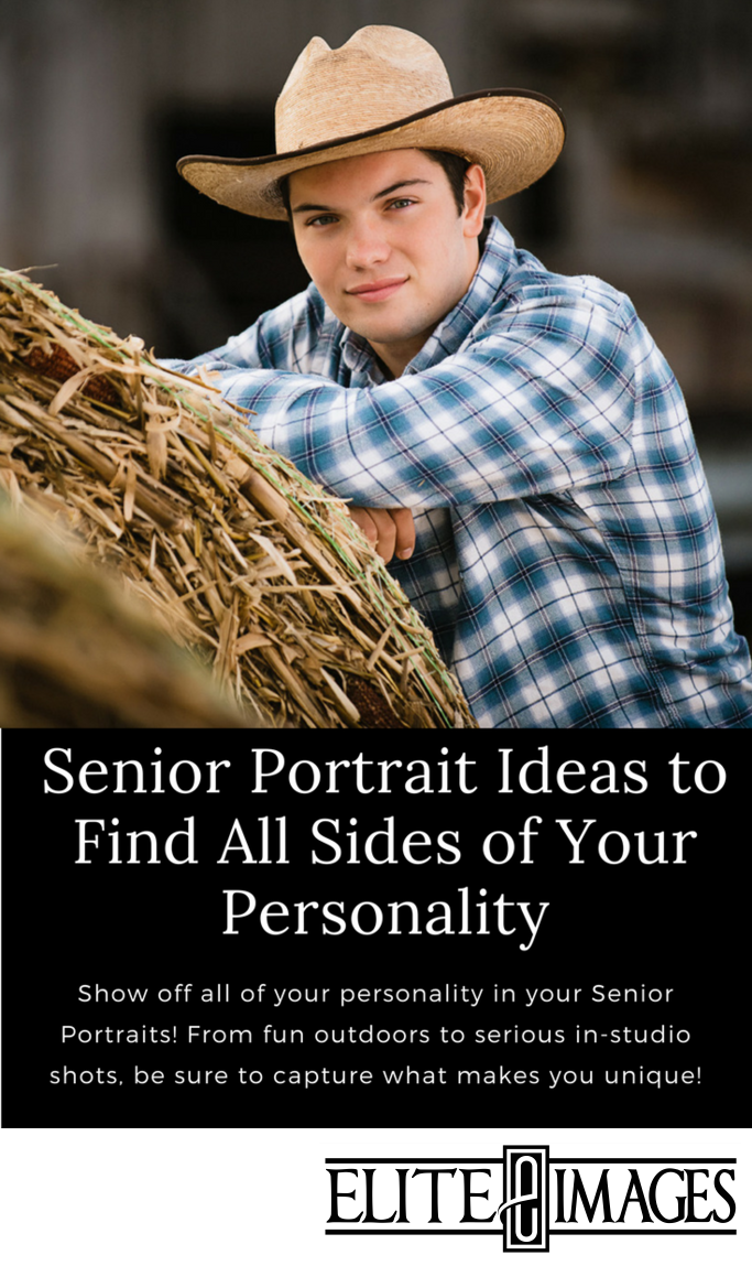 Senior Portrait Ideas to Find all Sides of Your Personality