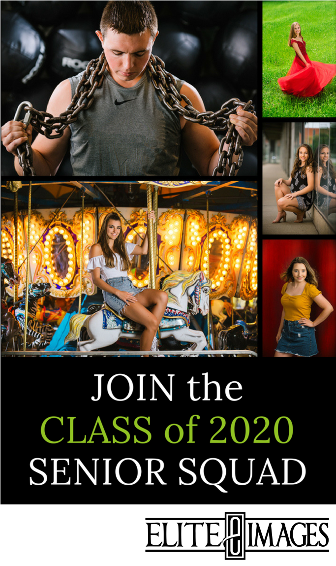 Class of  2020 Senior Portraits Dubuque