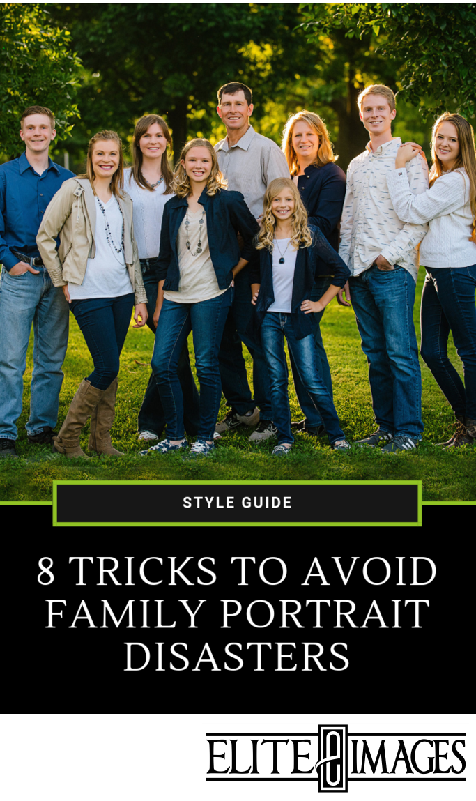 8 Tricks to Avoid Family Portrait Disasters