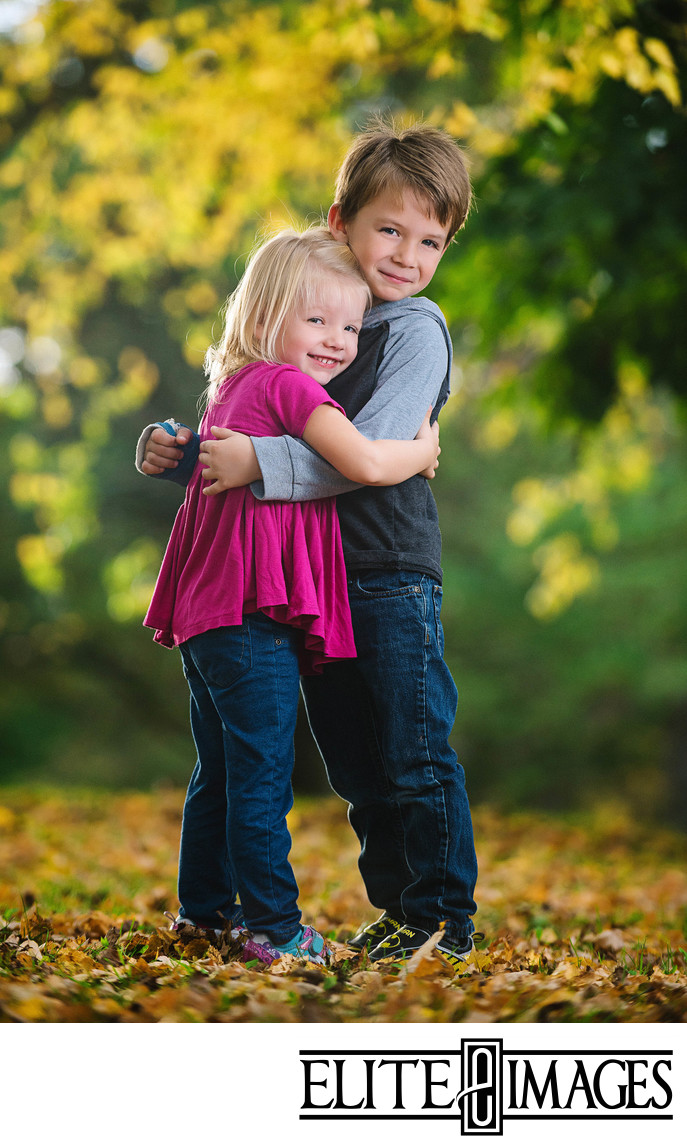 Dubuque fall family photos