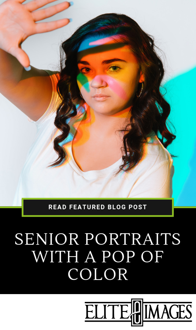 Senior Portraits with a Pop of Color