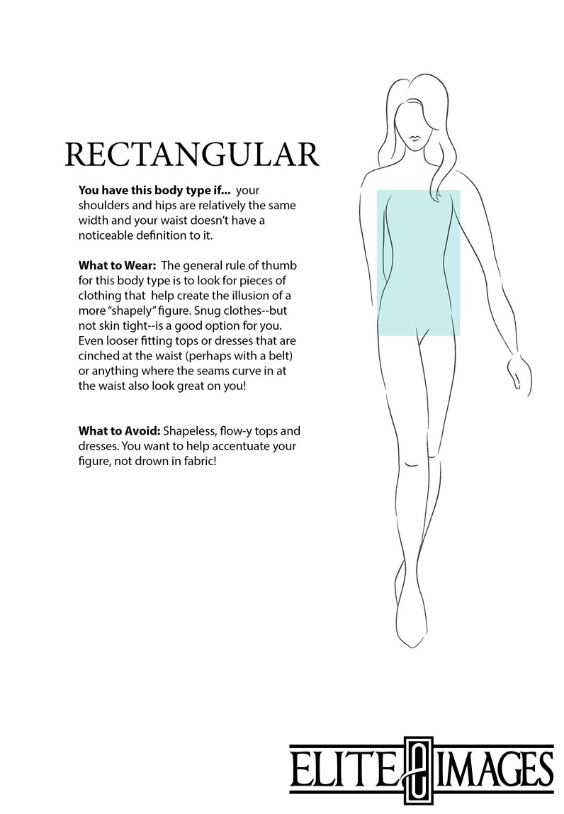 What to Wear for Rectangle Body Type