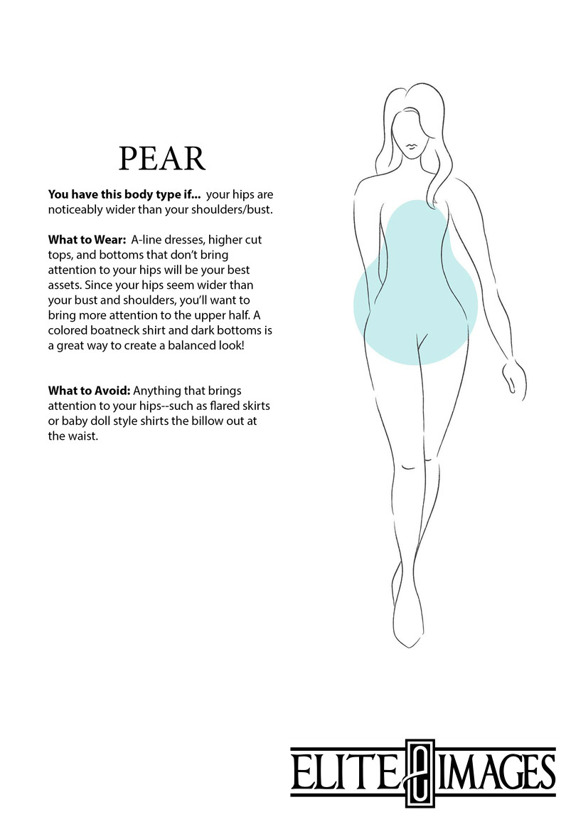What to Wear for Pear Body Type