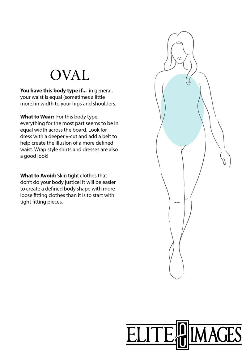 What to Wear for Oval Body Type