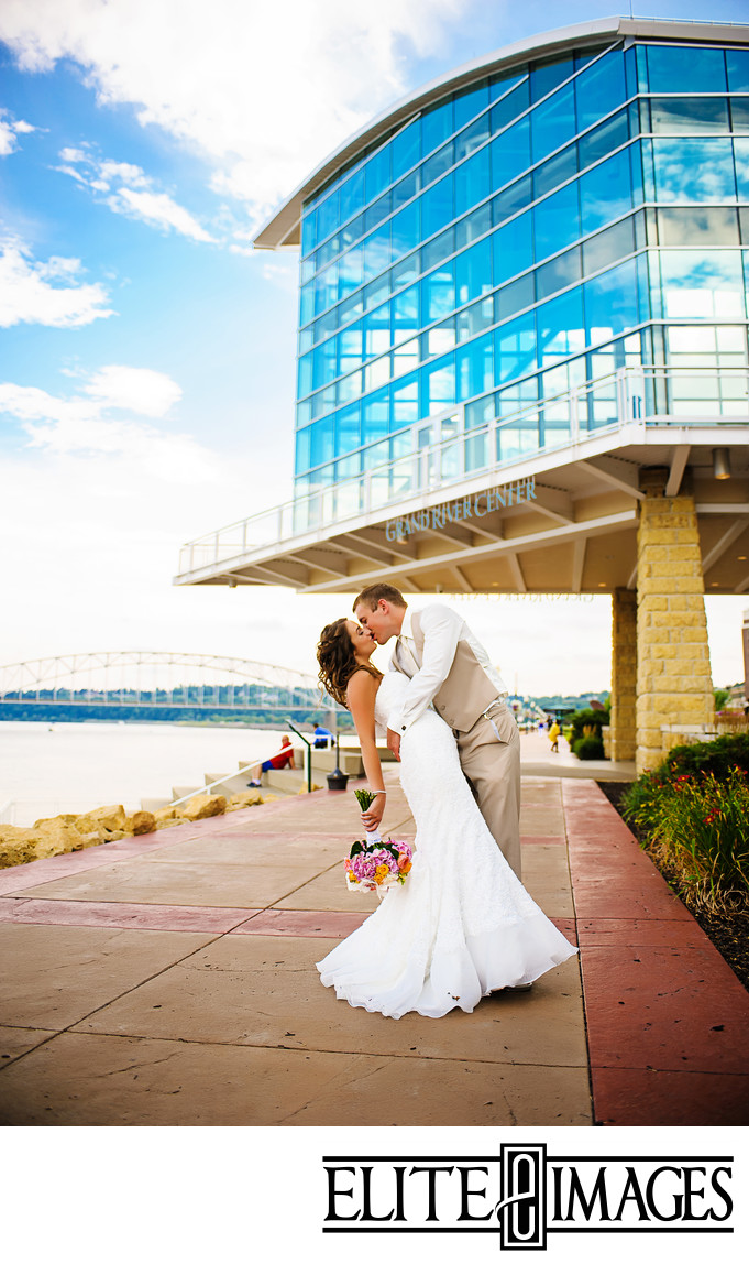Wedding Photographers at Dubuque Grand River Center