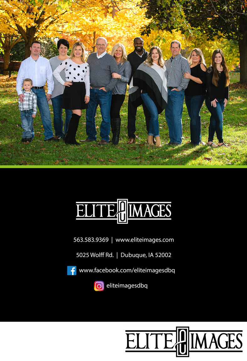 Dubuque Photographer Contact for Family Portraits