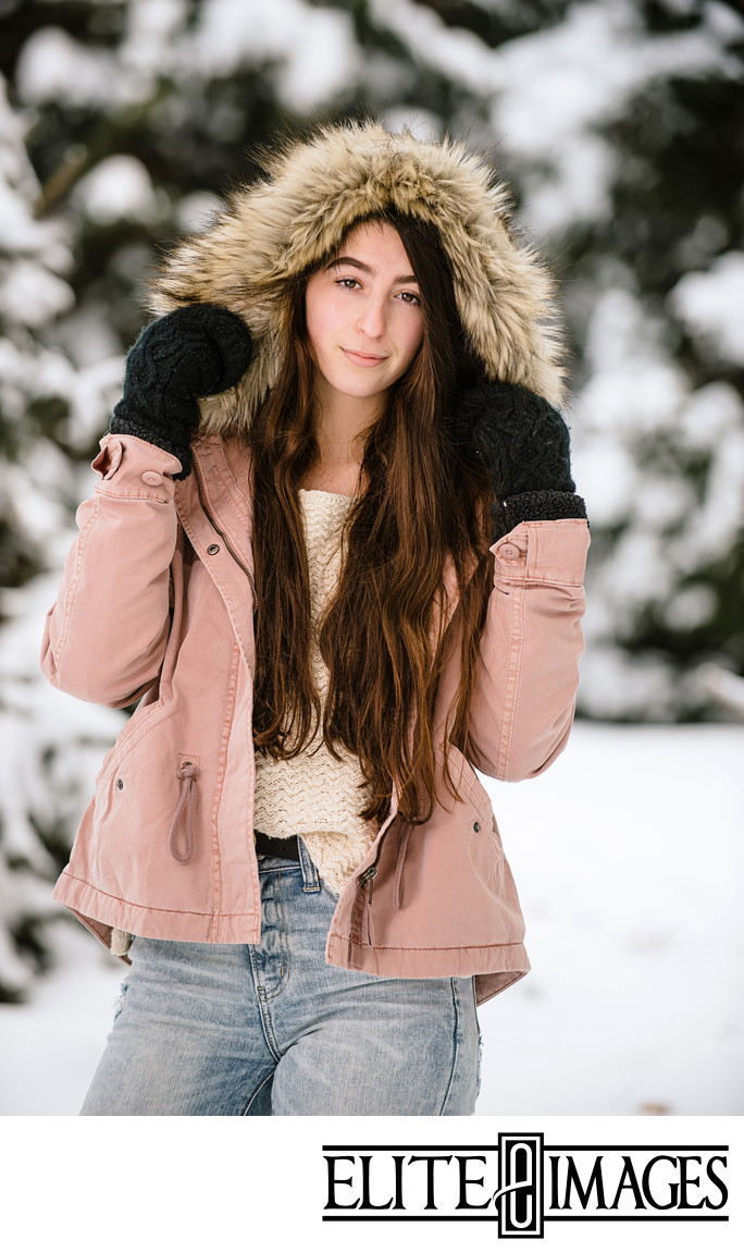 Winter Pictures in the Snow