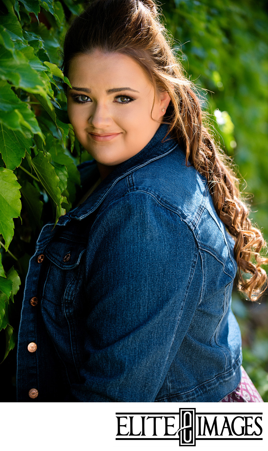 Cute Senior Portraits Dubuque Iowa