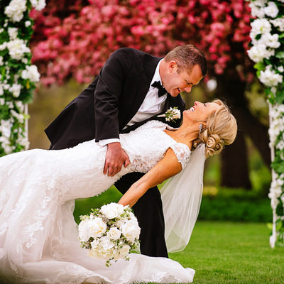 Romantic Wedding Photography in Dubuque Iowa