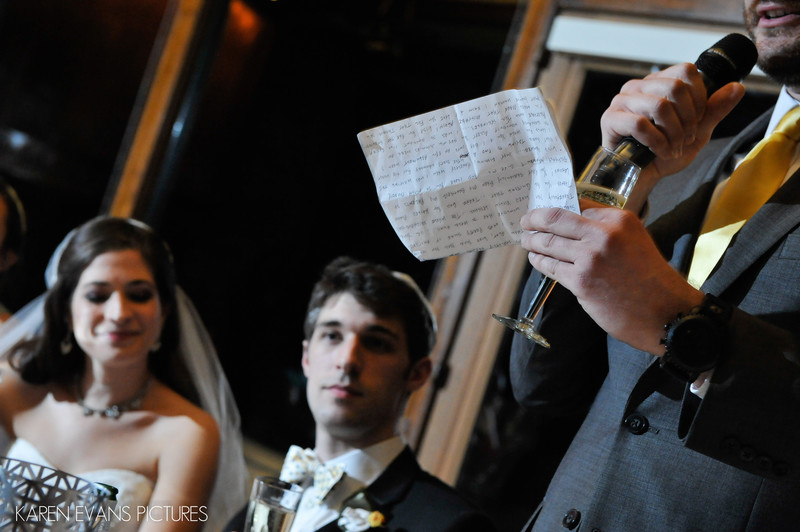 Toasts At The Darby House Wedding Reception Columbus Ohio Wedding