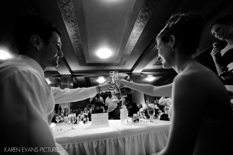 The Oak Room - The Columbus Athenaeum Wedding Reception