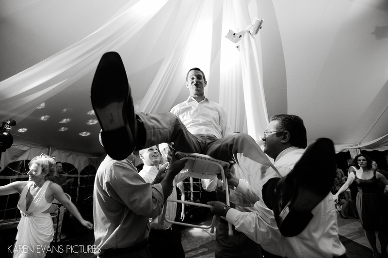Hora Jewish Wedding Columbus Ohio