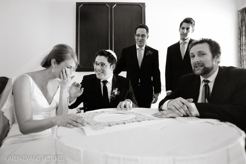 Jewish Ketubah The Lakes Wedding Photography
