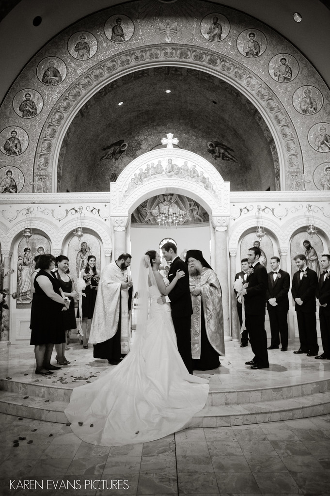 Greek Orthodox Cathedral Wedding Photography