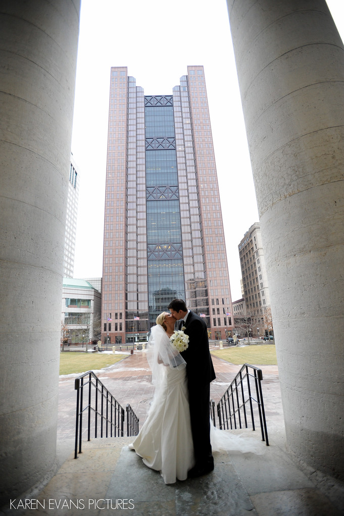 Ohio State Capitol Wedding Photography