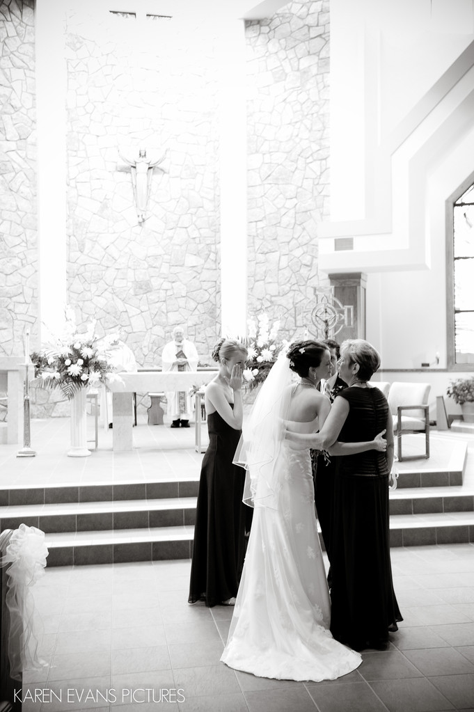 Wedding Photography at St Peter Catholic Church Powell