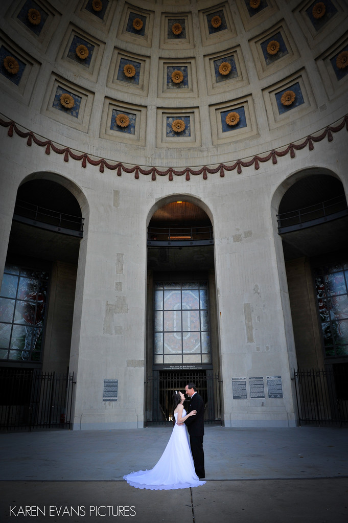 Wedding Photography at Ohio Stadium