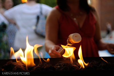 Cool Idea - S'mores at a Wedding Reception