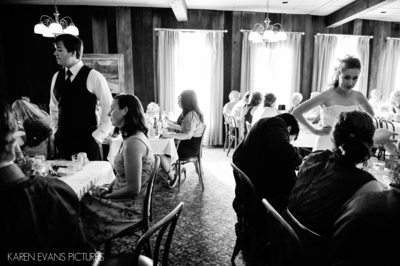 German Village Wedding Reception Photography