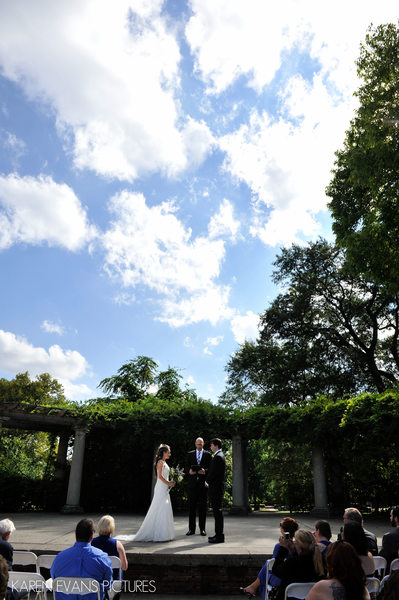 Schiller Park Amphitheater Wedding Photos
