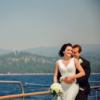 Wedding Photographer at Tahoe Bleu Wave