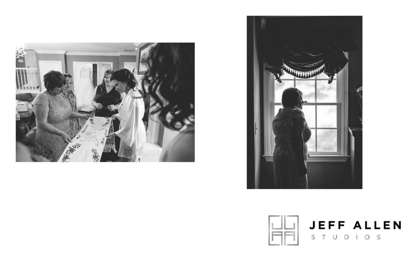 Wedding Album Spread - Brookmill Farm - Candid Family