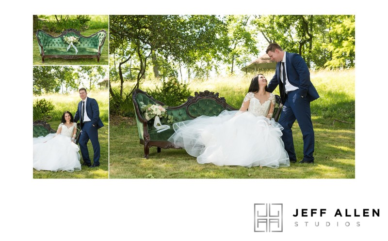 Wedding Album Spread - Brookmill Farm - Portraits