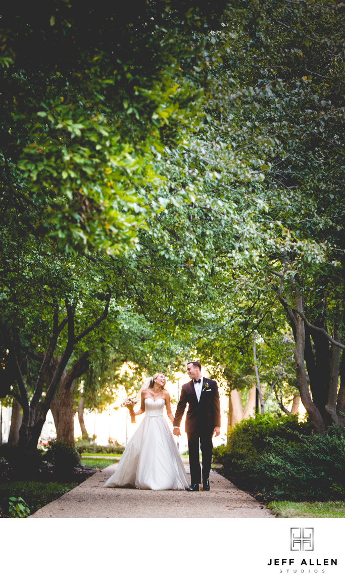 Washington DC Wedding Couple in Lower Senate Park