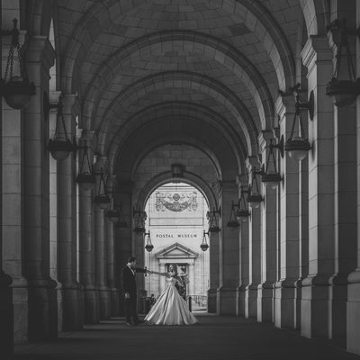 Candid First Dance at Union Station in Washington DC