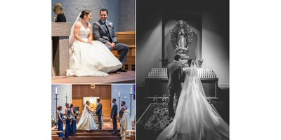 Durham Catholic Wedding Ceremony
