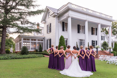 Friend First Bridesmaid Second at Rose Hill Plantation