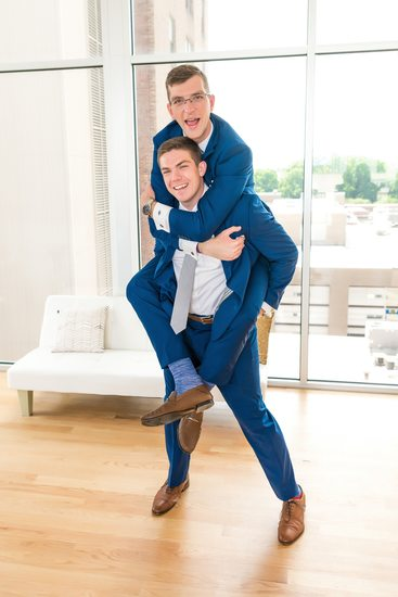 Never Too Old for a Piggy Back Ride at a Wedding