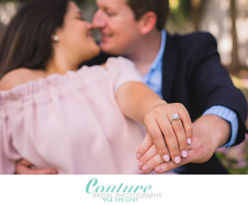 ENGAGEMENT PHOTOGRAPHER IN FORT LAUDERDALE FLORIDA