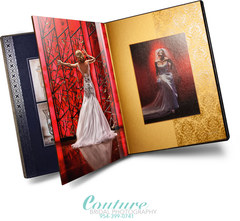 FORT LAUDERDALE WEDDING ALBUM DESIGN & SALES