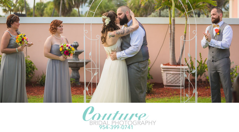 Preferred Photographer W Miami Wedding