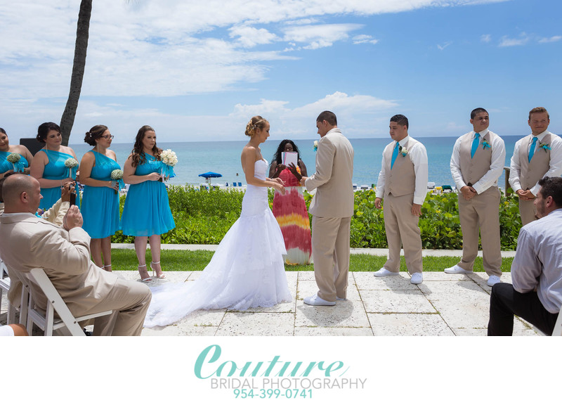 Wedding Ceremony Delray Beach Photographers