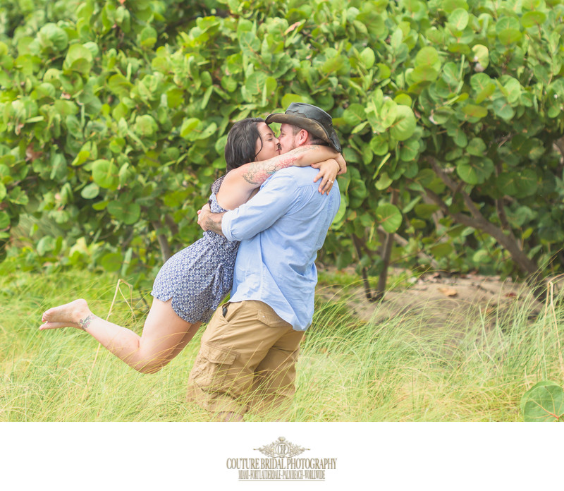 POMPANO BEACH ENGAGEMENT & COUPLES PHOTOGRAPHER