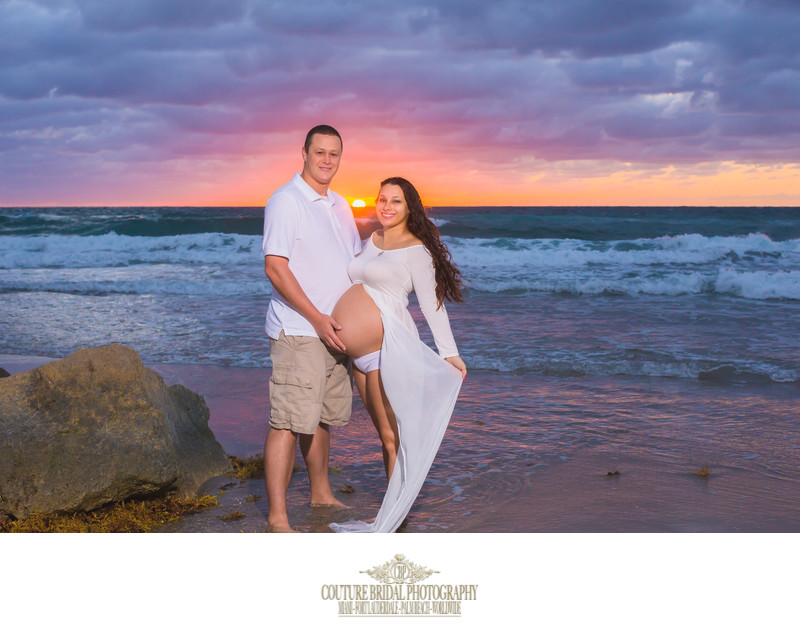 DEERFIELD BEACH MATERNITY PORTRAIT PHOTOGRAPHY