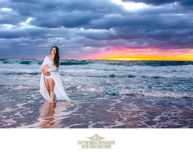 DEERFIELD BEACH FINE ART MATERNITY PHOTOGRAPHY