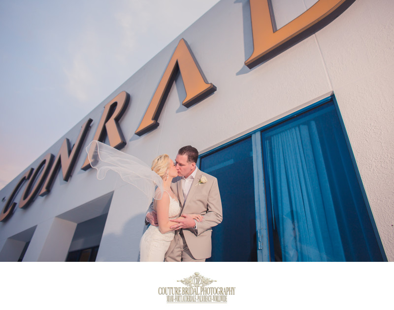CONRAD FORT LAUDERDALE PREFERRED WEDDING PHOTOGRAPHERS