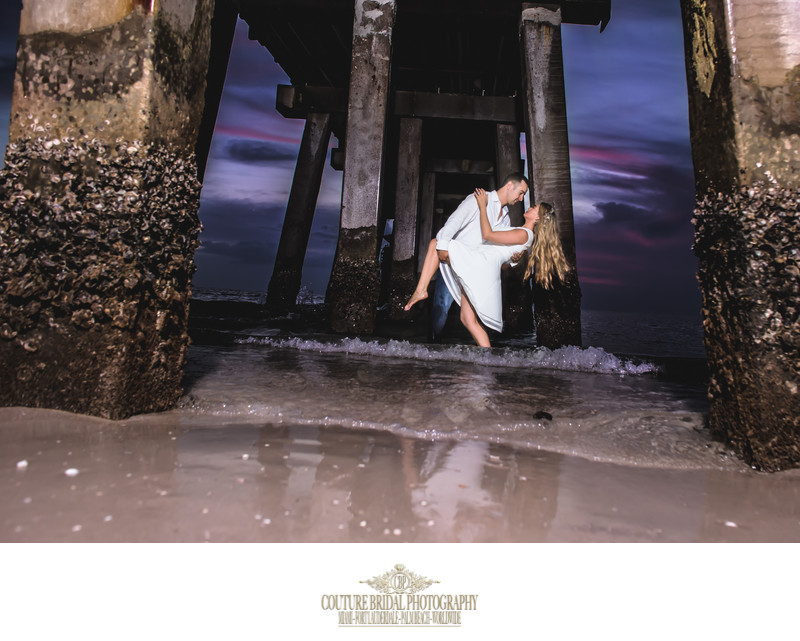 NAPLES PIER ENGAGEMENT PHOTO SESSION