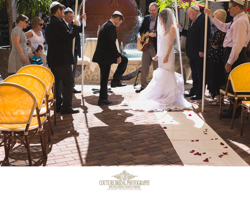 WEDDING PHOTOGRAPHER WELLINGTON FLORIDA JEWISH WEDDINGS