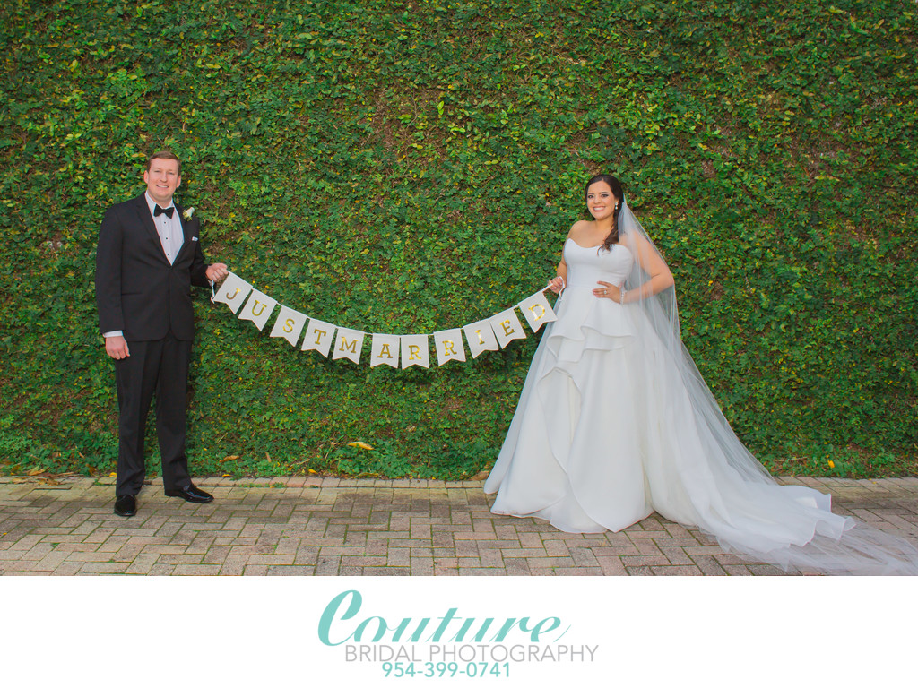 PORTRAIT PHOTOGRAPHY AT WEDDINGS IN DELRAY BEACH