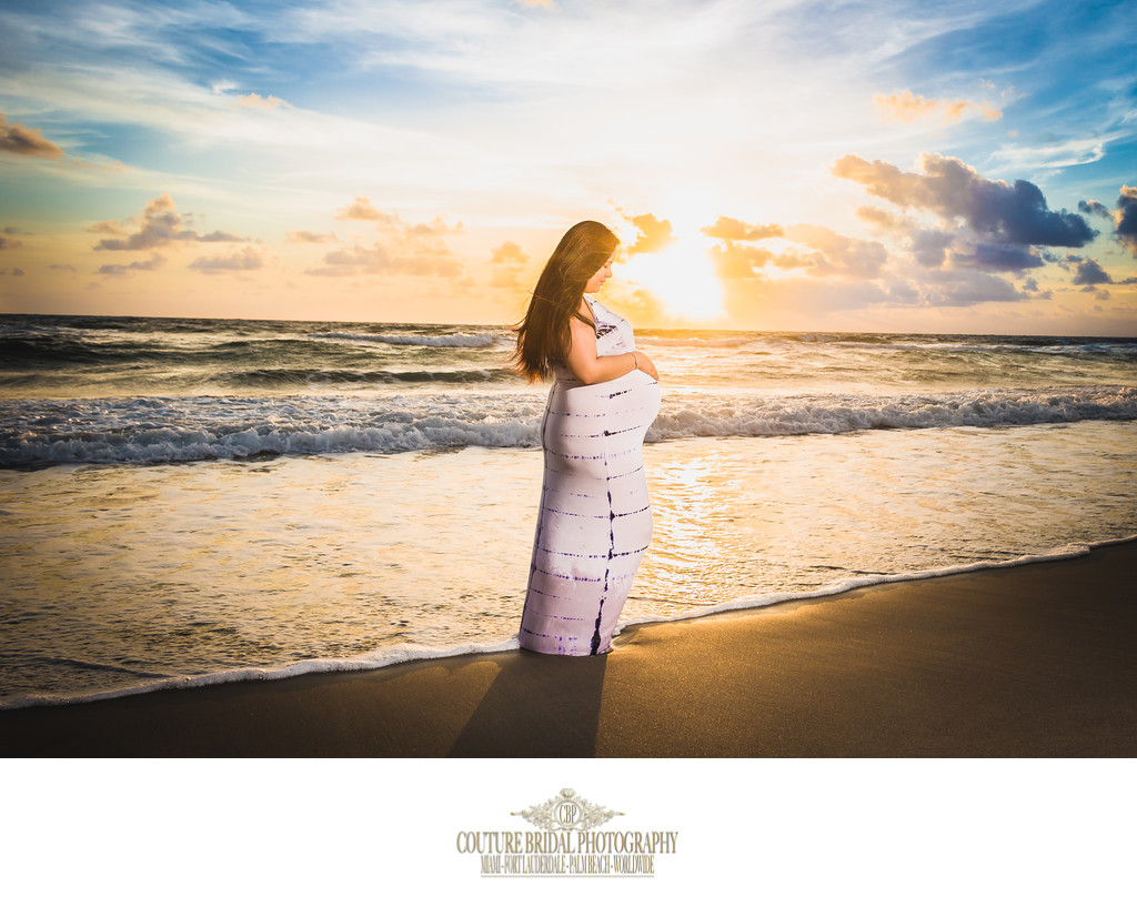 MIAMI FINE ART MATERNITY PHOTOGRAPHER