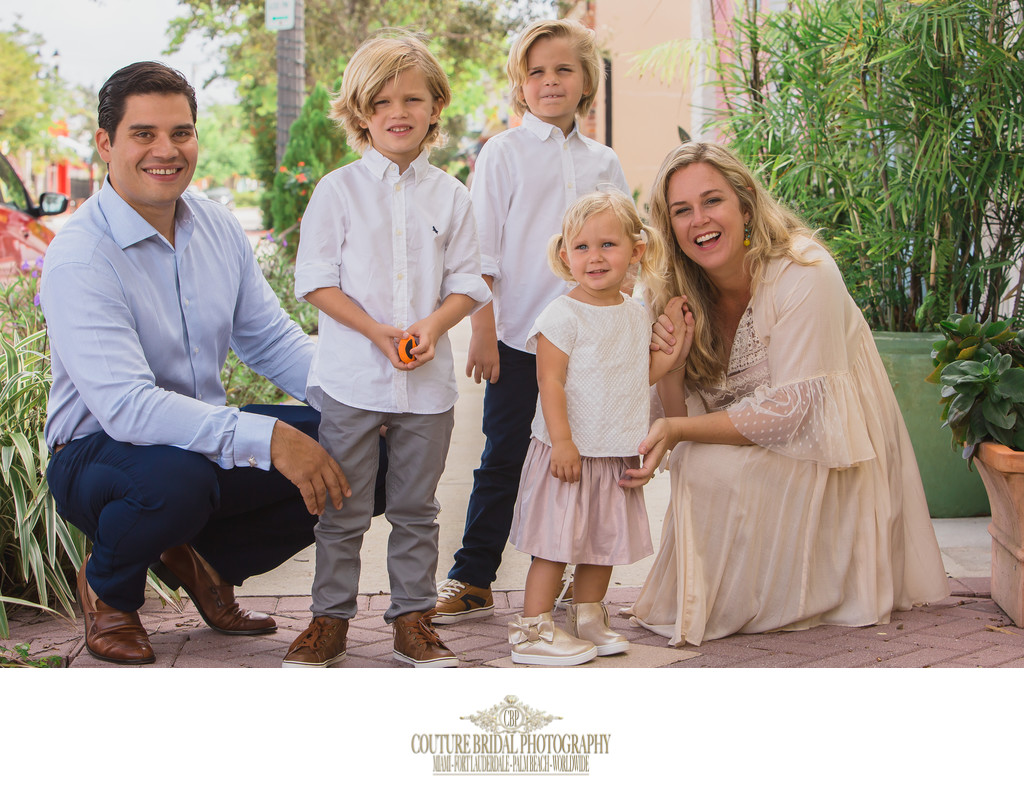 FORT LAUDERDALE FAMILY PORTRAIT PHOTOGRAPHER