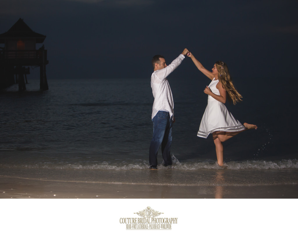 ENGAGEMENT PHOTOGRAPHY NAPLES FLORIDA PHOTOGRAPHER
