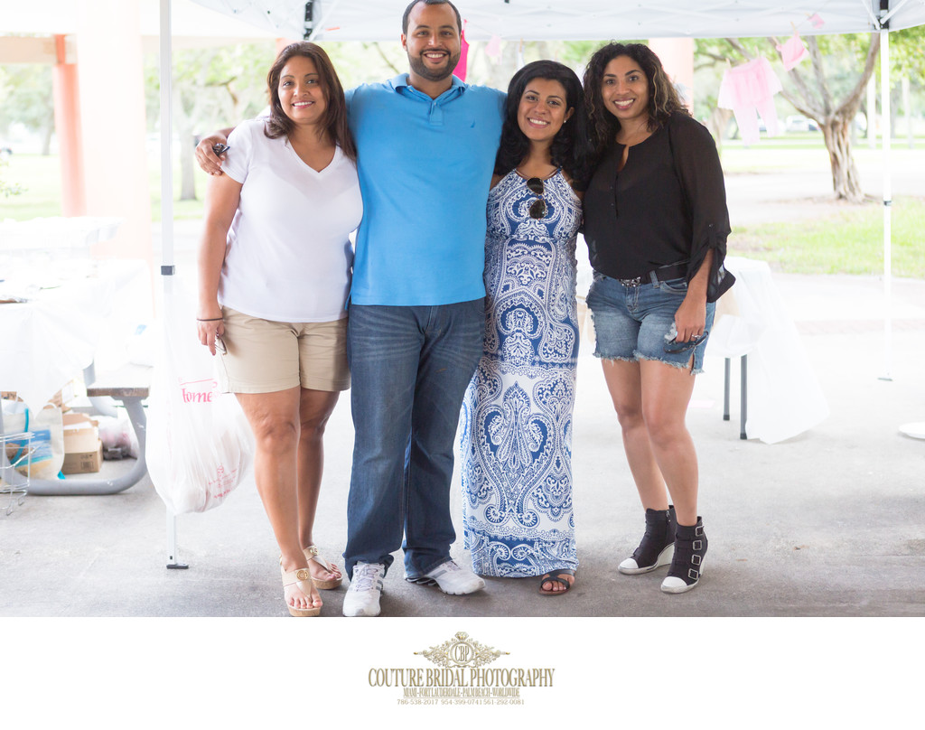 FORT LAUDERDALE BABY SHOWER AND FAMILY PHOTOGRAPHY
